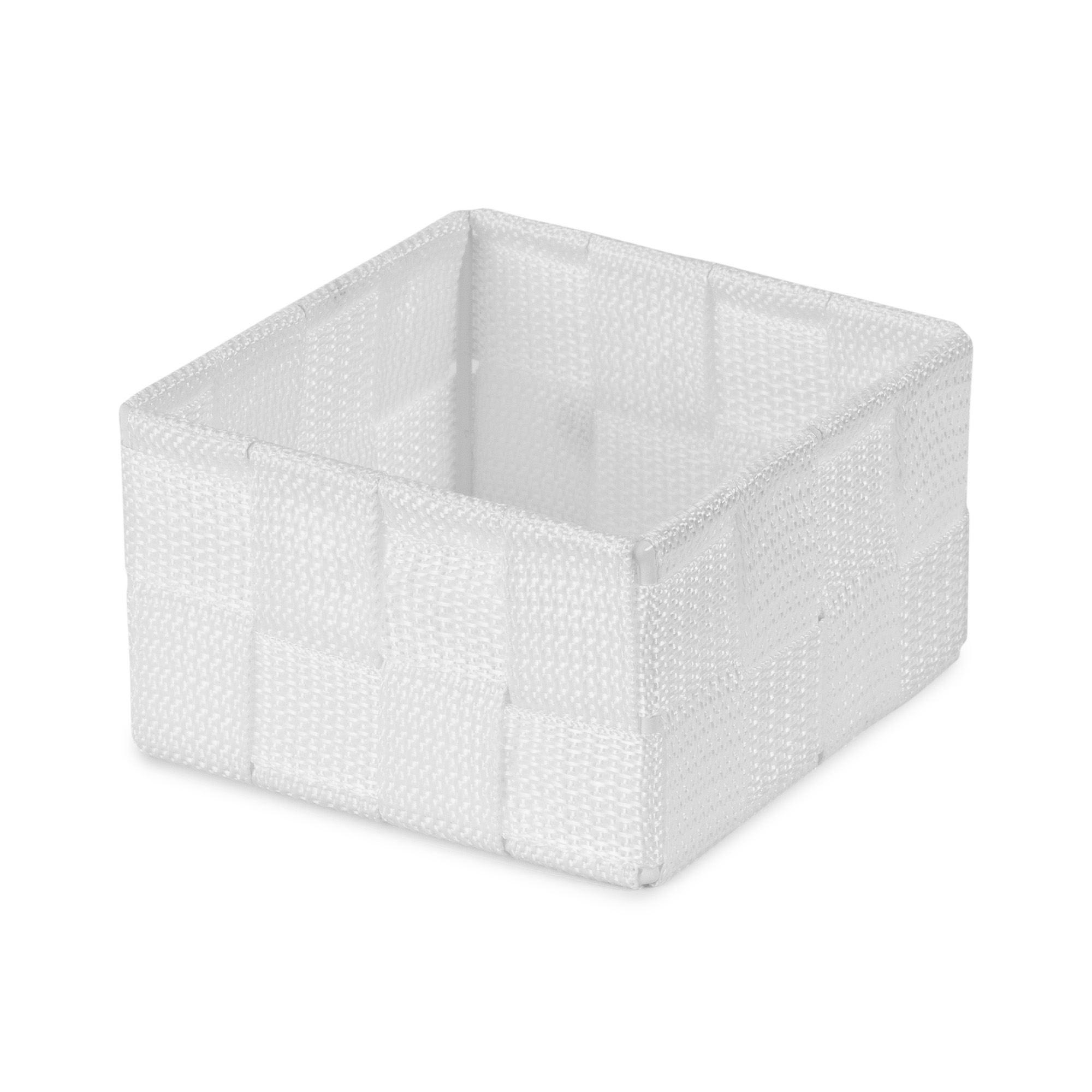 Organisateur de tiroir blanc 12x12cm