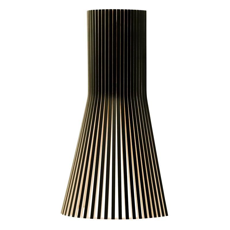 Applique en bois noir H45cm