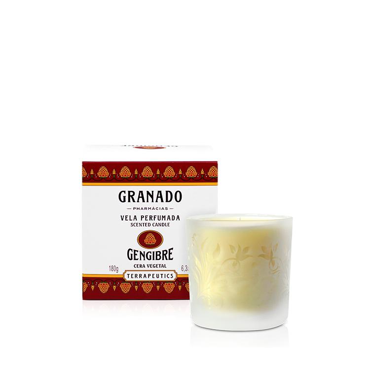 Bougie parfumée au gingembre