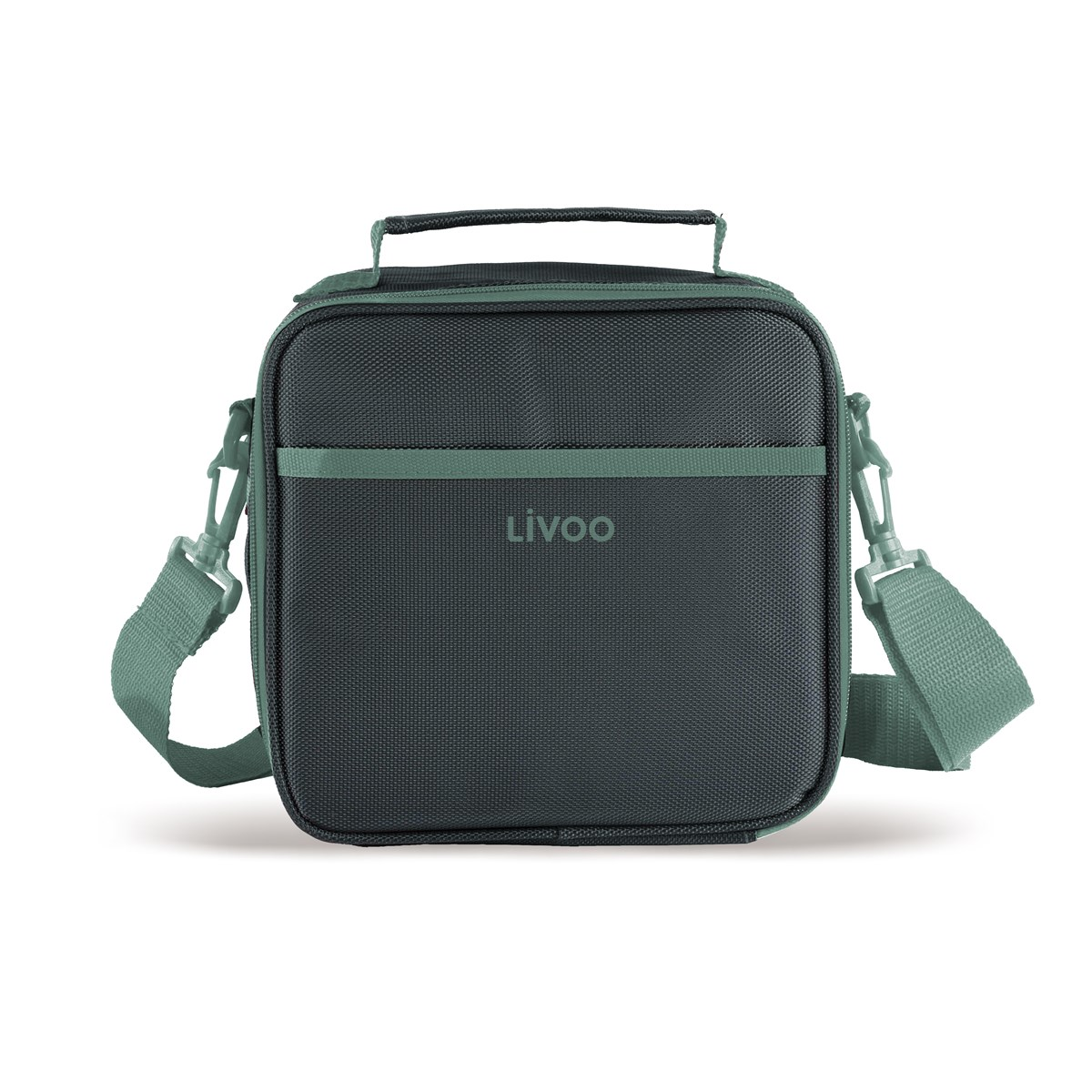 Sac à repas isotherme lunch box en polyester vert