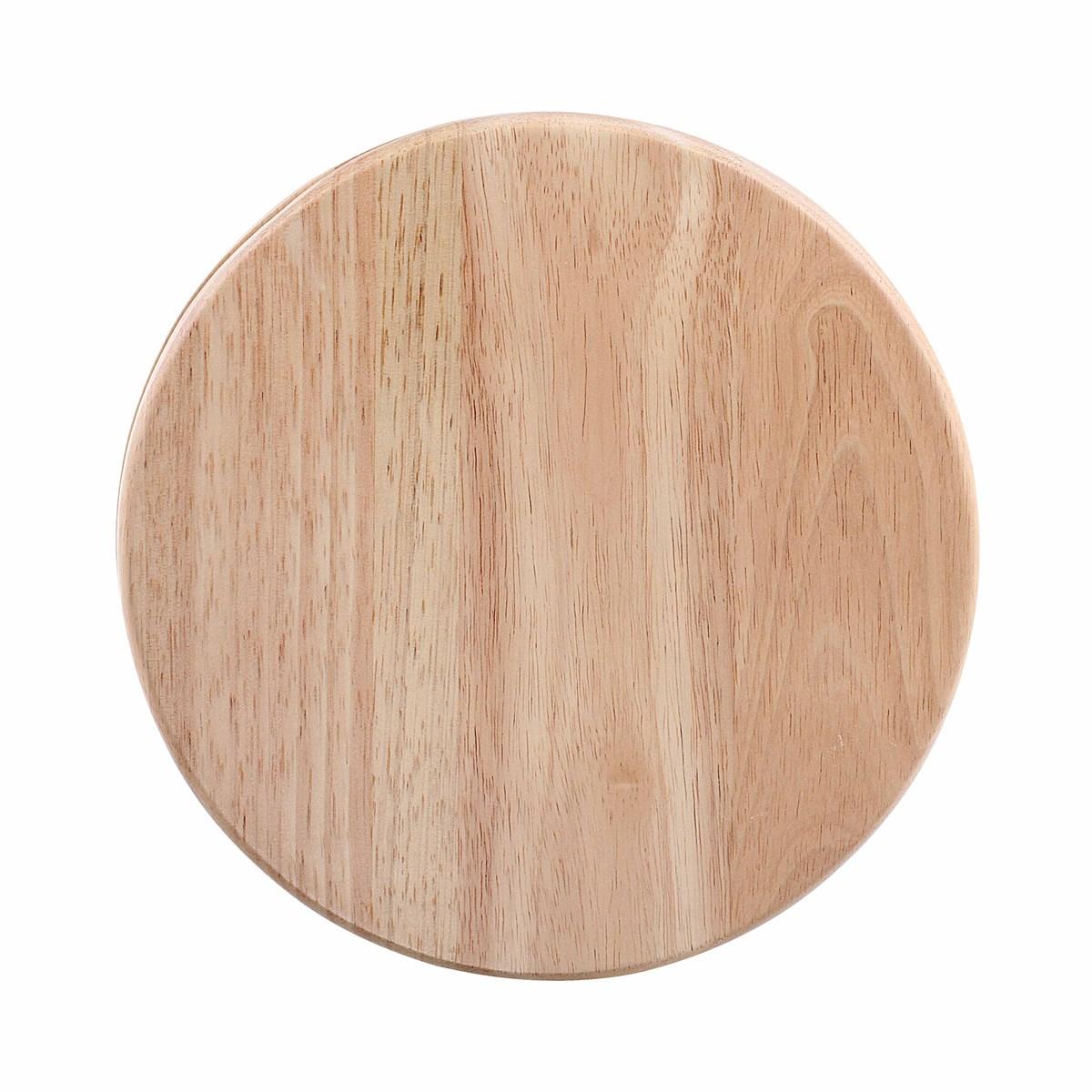 Plateau à fromage pivotant en bois beige