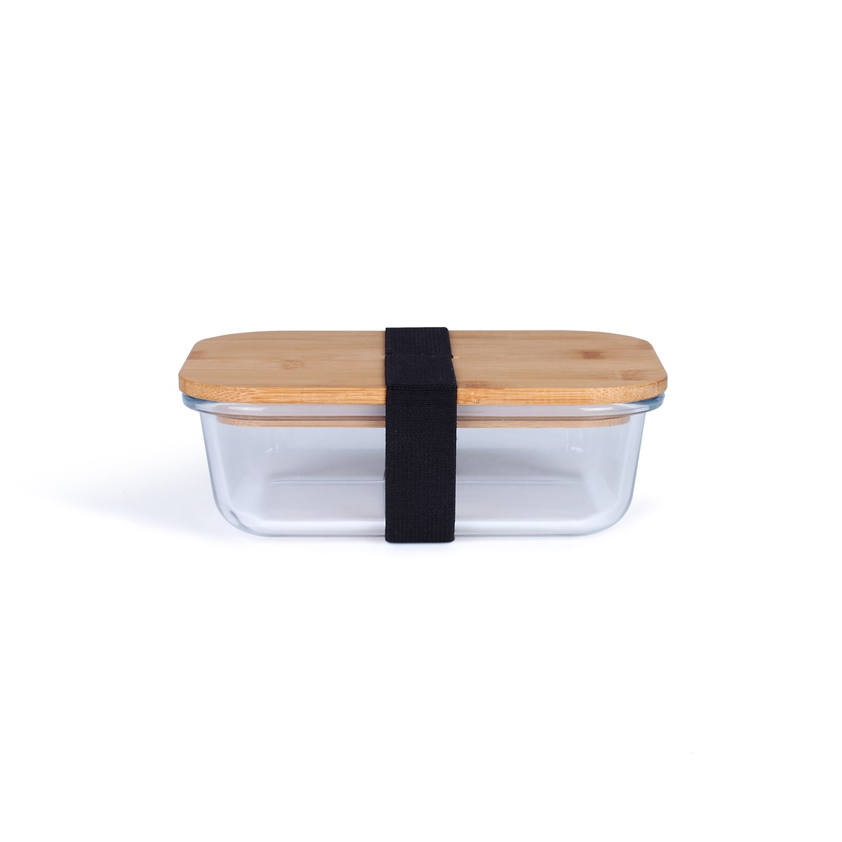 Lunch box en bambou transparent