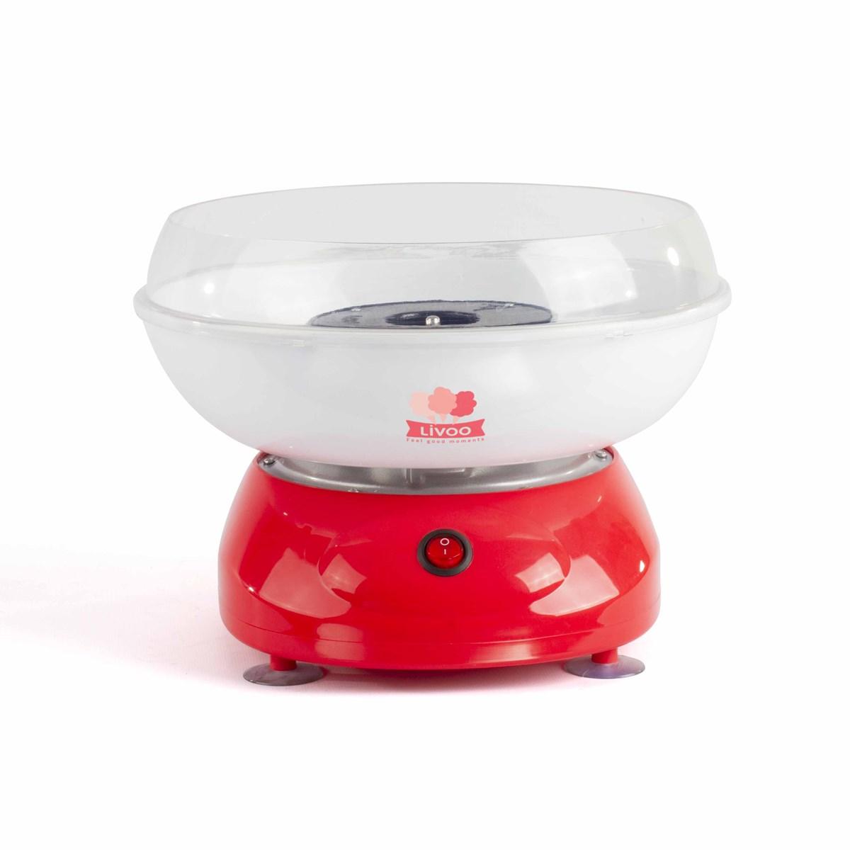 Machine à barbe à papa en plastique rouge
