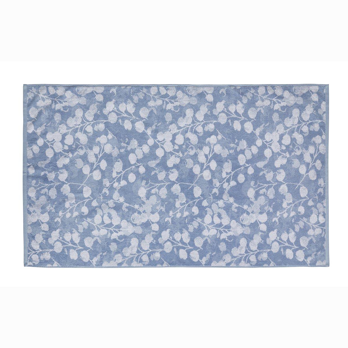 Drap de douche coton 70x140 cm bleu clair