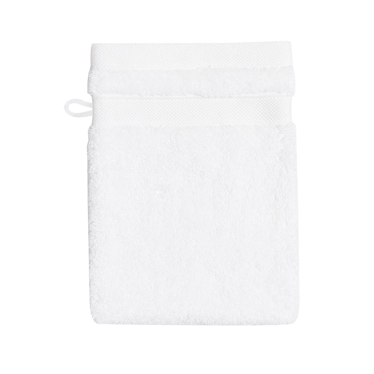 Gant de toilette coton 16x22 cm duvet