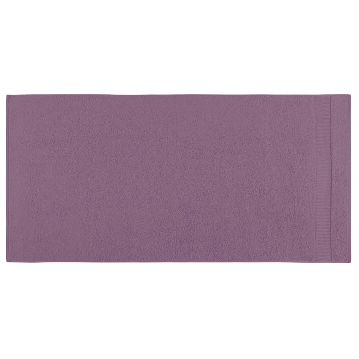 Drap de douche coton 70x140 cm hortensia
