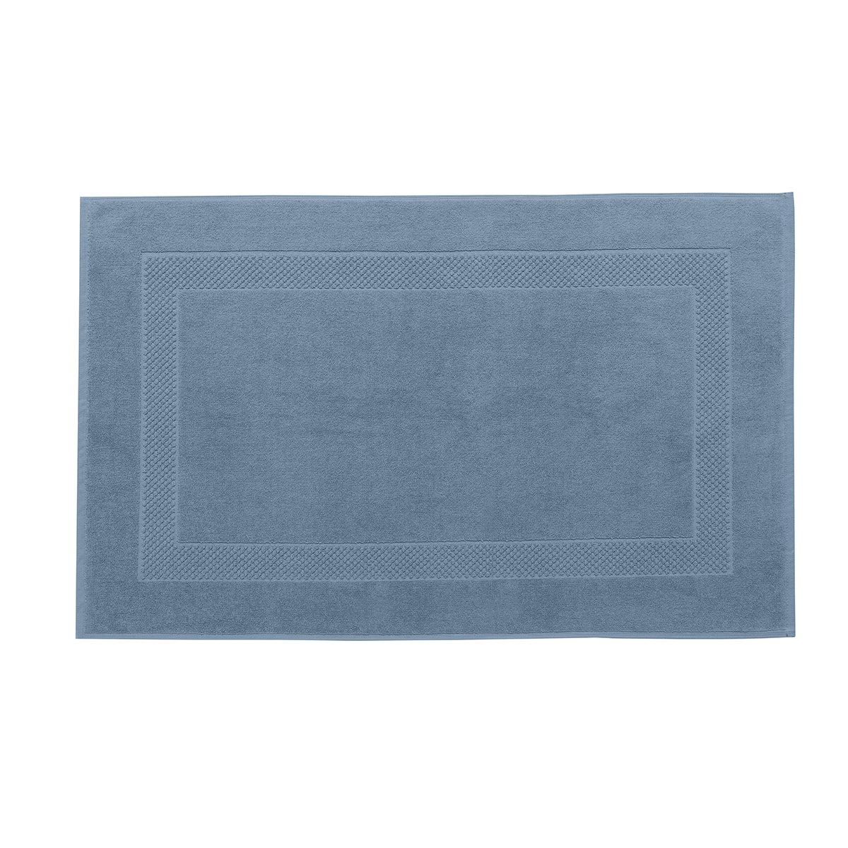 Tapis de bain coton 60x80 cm gentiane