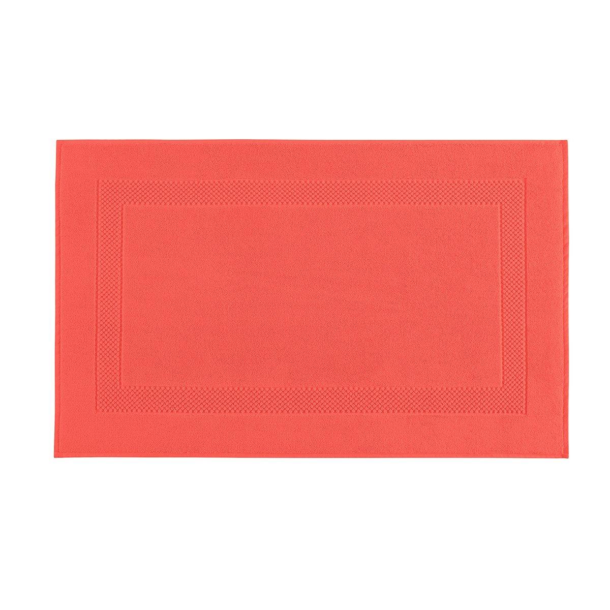 Tapis de bain coton 60x80 cm glaïeul