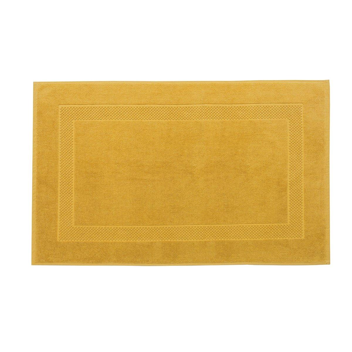 Tapis de bain coton 60x80 cm miel