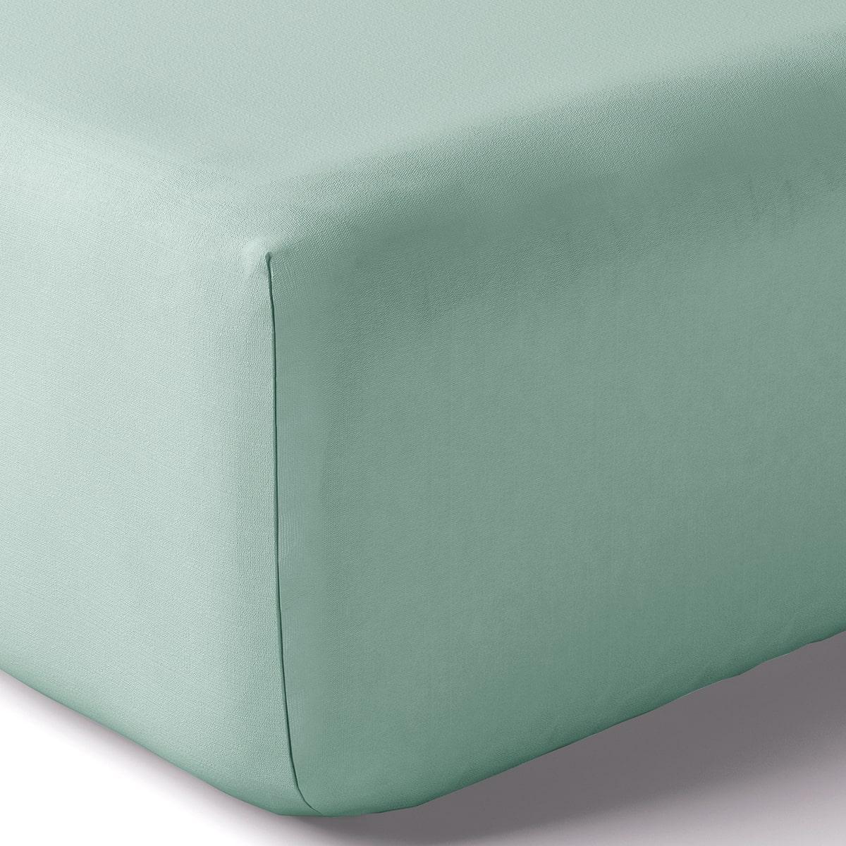 Drap housse coton 90x190 cm cumulus