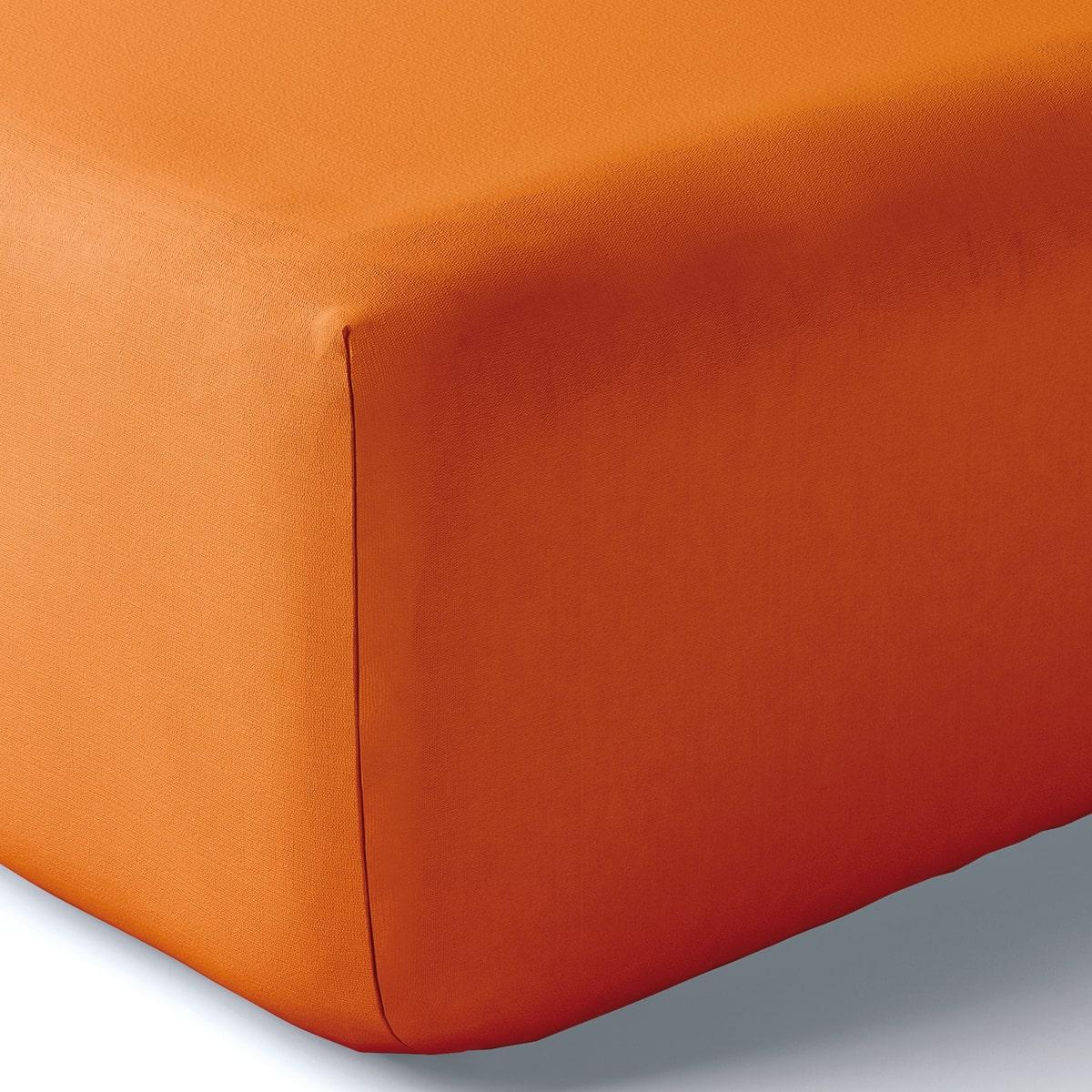 Drap housse coton 160x200 cm epices