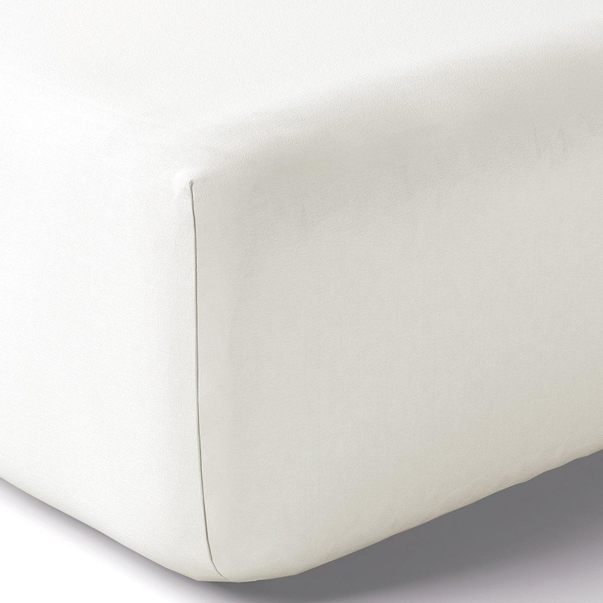 Drap housse coton 160x200 cm coco