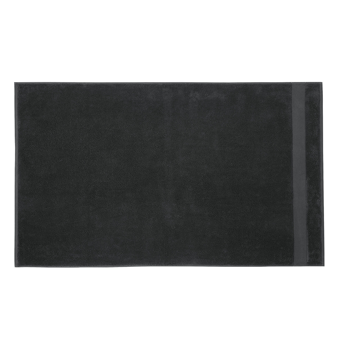 Drap de douche coton 70x140 cm poivre