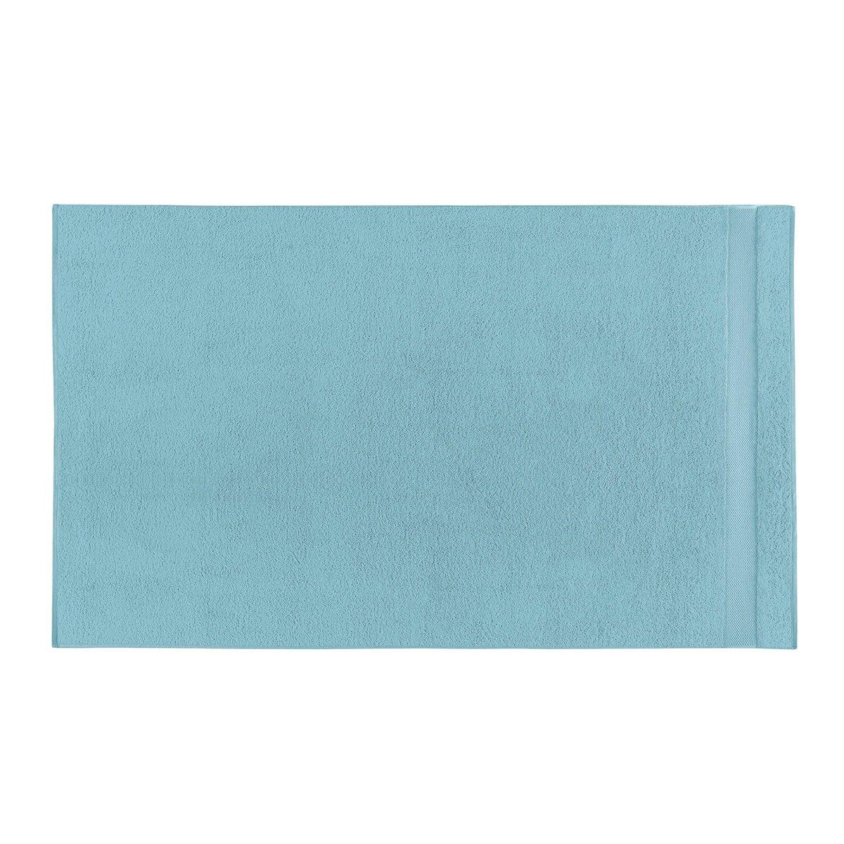 Drap de bain coton 90x150 cm azur
