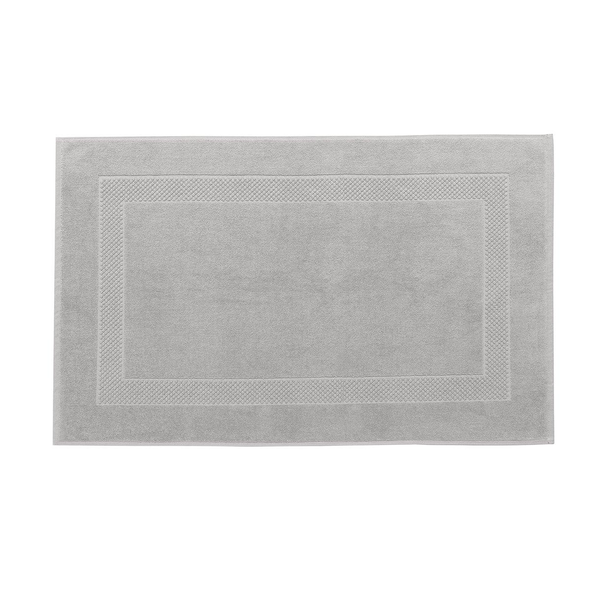 Tapis de bain coton 60x80 cm perle