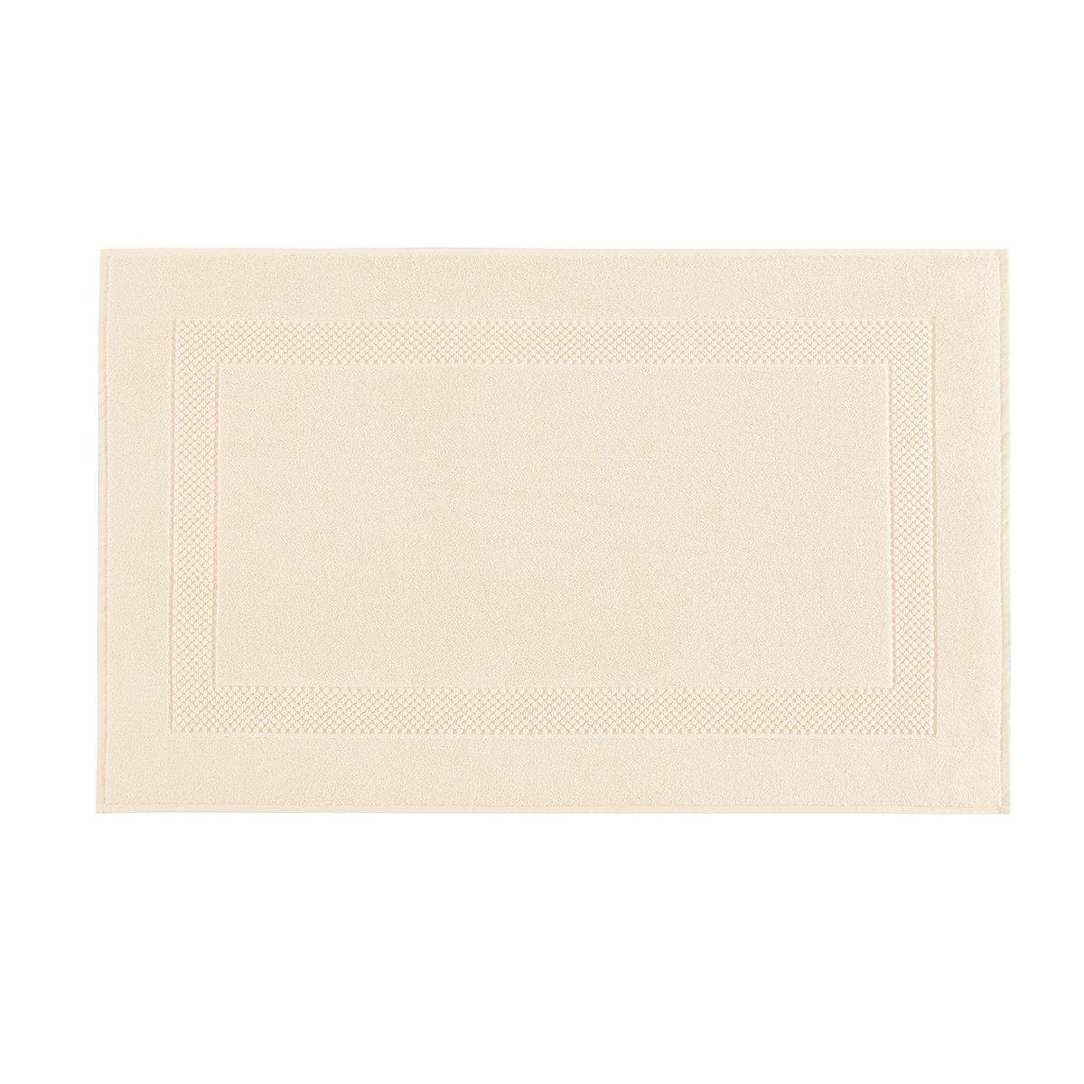 Tapis de bain coton 60x80 cm chèvrefeuille