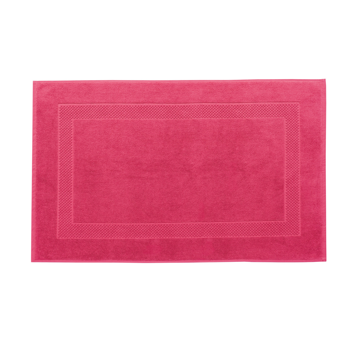 Tapis de bain coton 60x80 cm aubépine