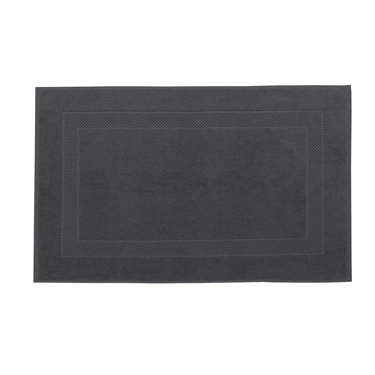 Tapis de bain coton 60x80 cm poivre