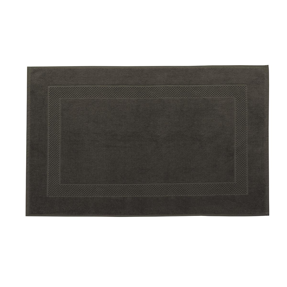 Tapis de bain coton 60x80 cm acacia