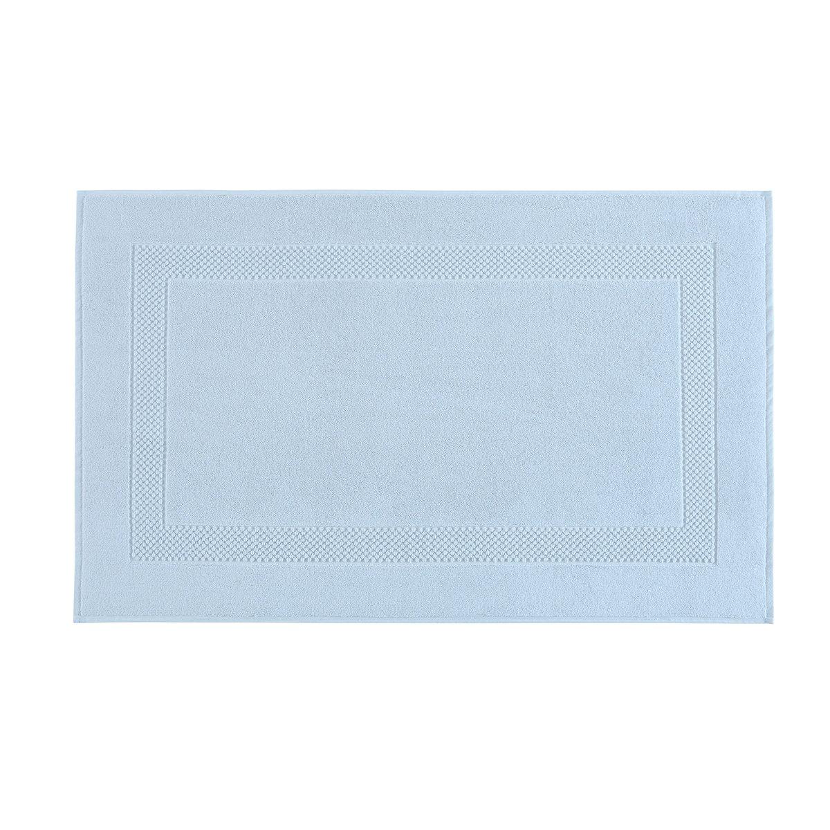 Tapis de bain coton 60x80 cm ciel