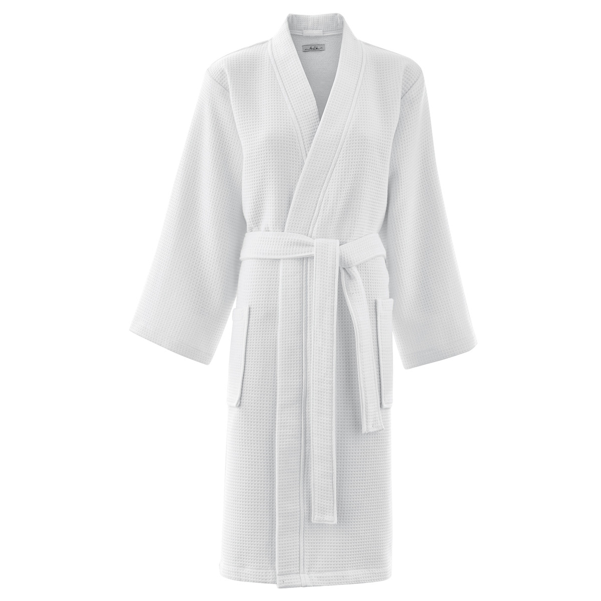 Peignoir coton s blanc