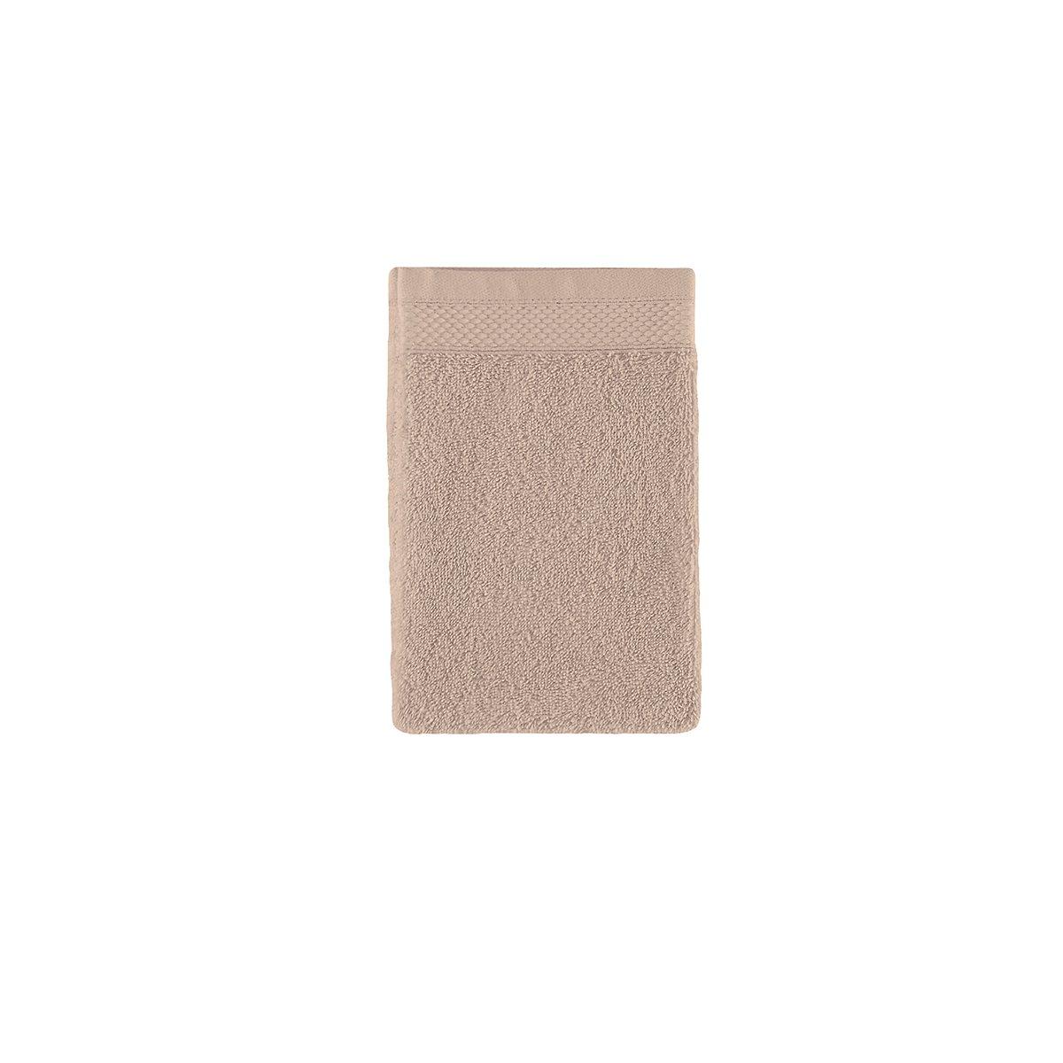 Gant de toilette coton 16x22 cm sureau