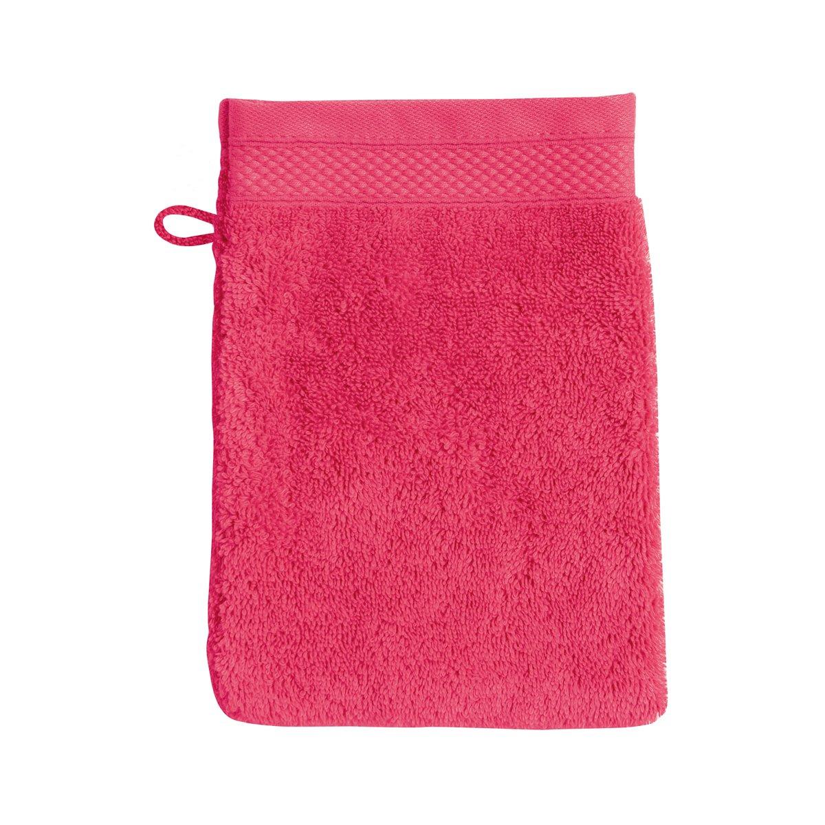 Gant de toilette coton 16x22 cm aubépine