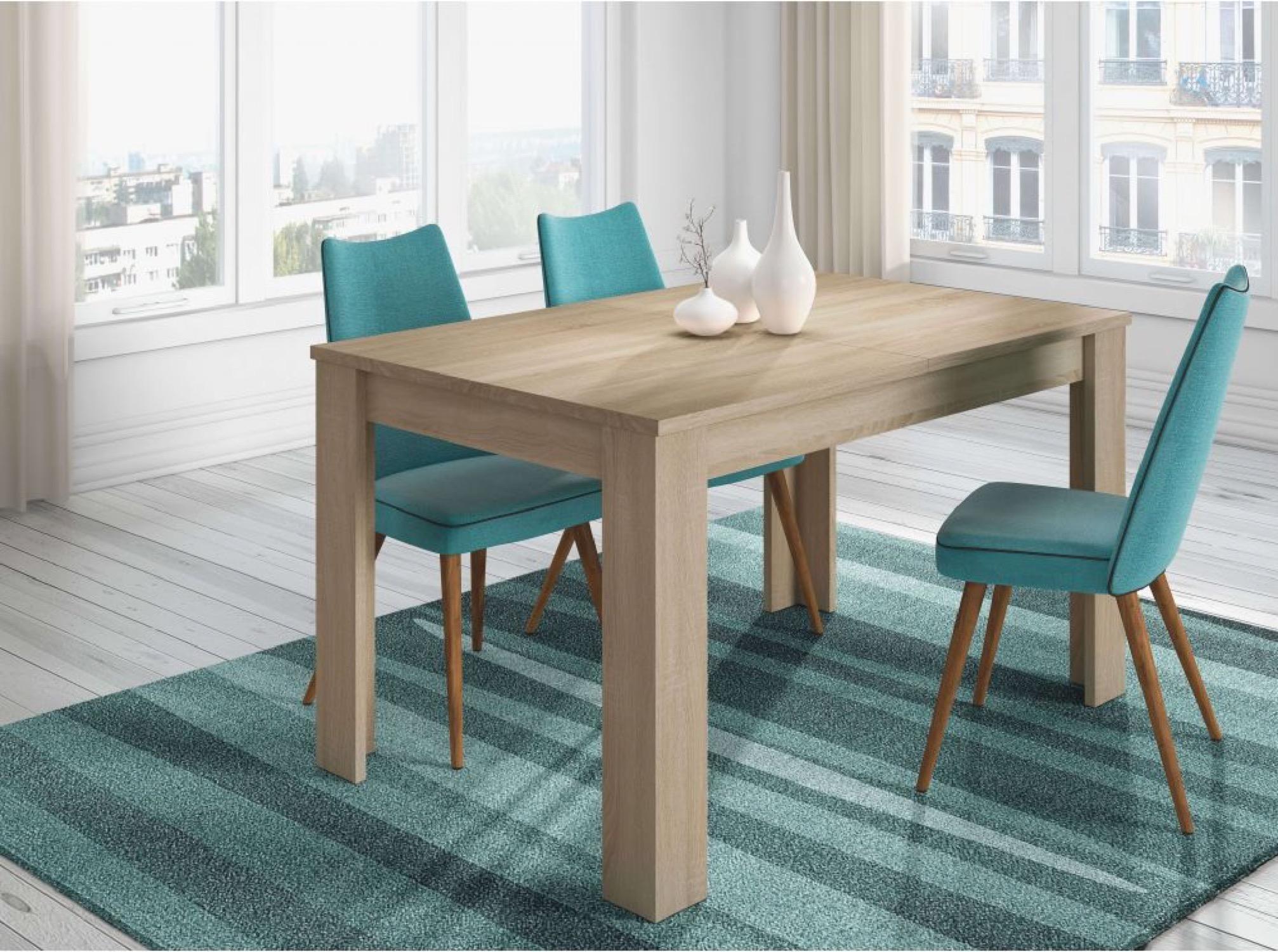 Table à manger extensible bois L140/190cm
