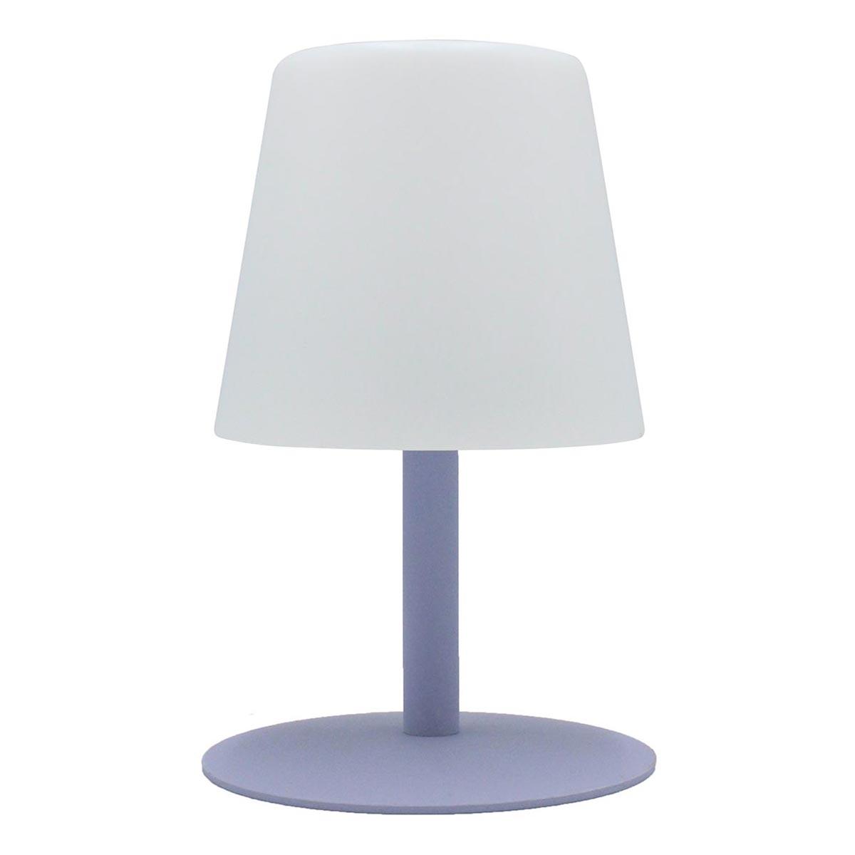 STANDY MINI-Lampe de table sans fil acier lavande H25cm