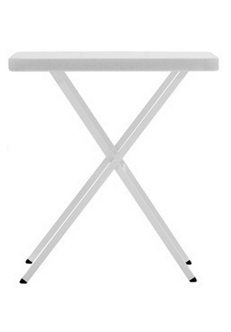 Table pliable blanche