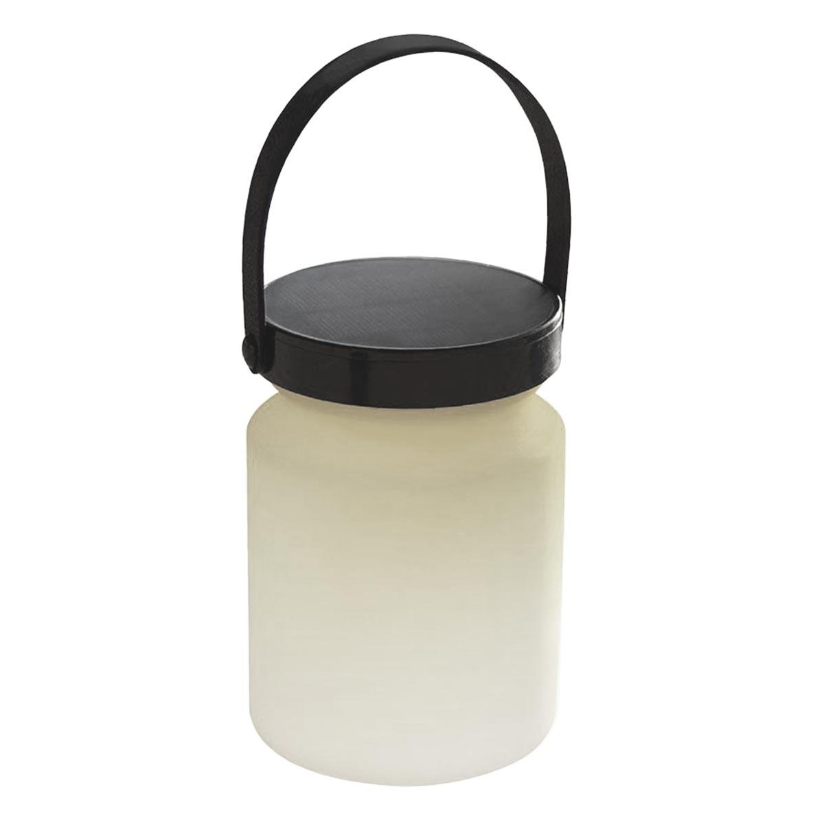 KOPYPY-Lanterne solaire plastique blanc H22cm