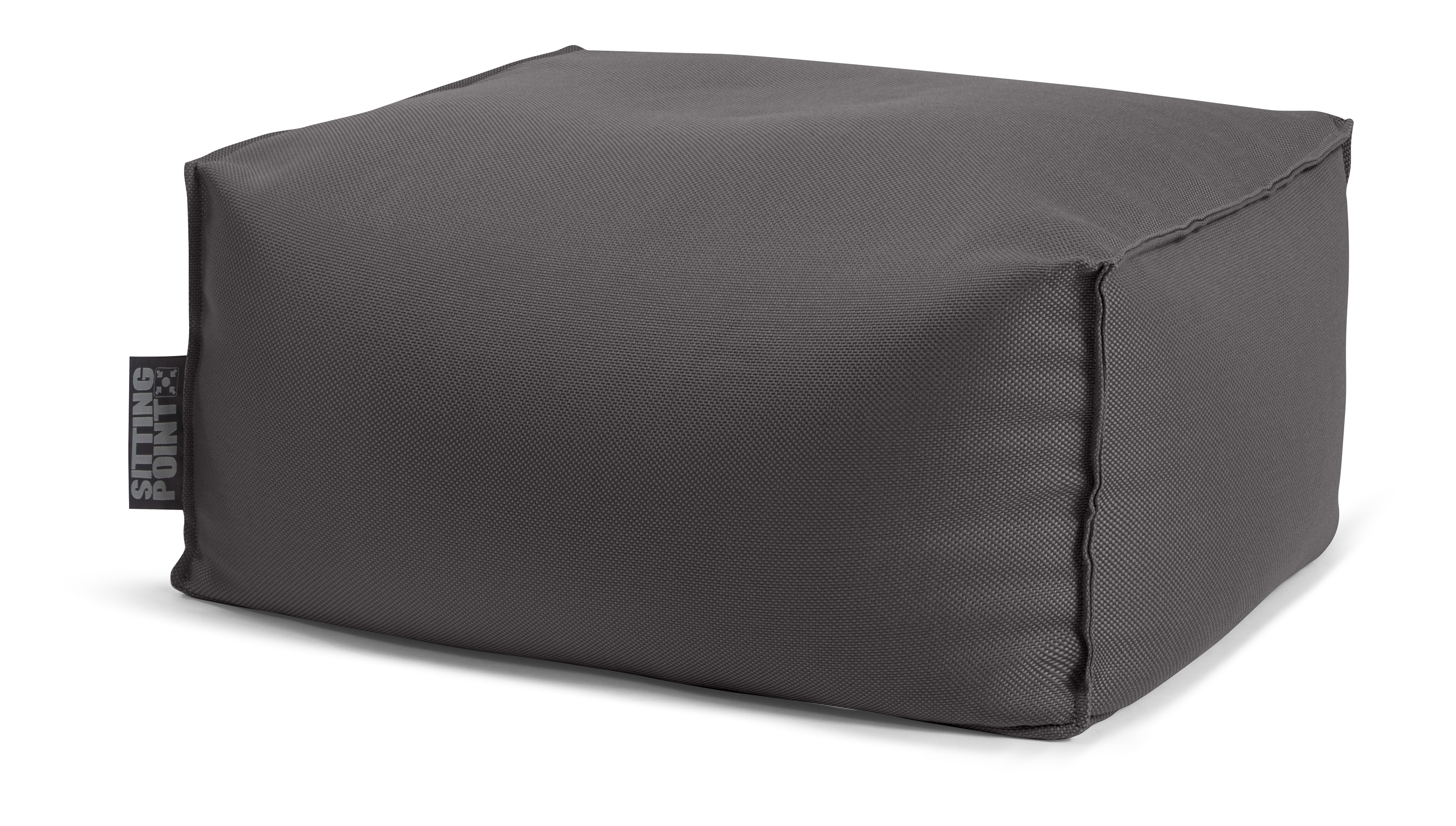 Pouf repose-pieds outdoor anthracite 55x65x35