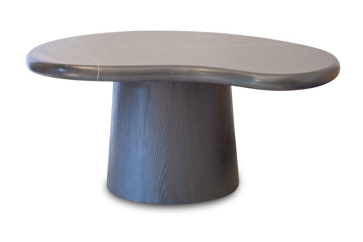 Table de salon en marbre noir