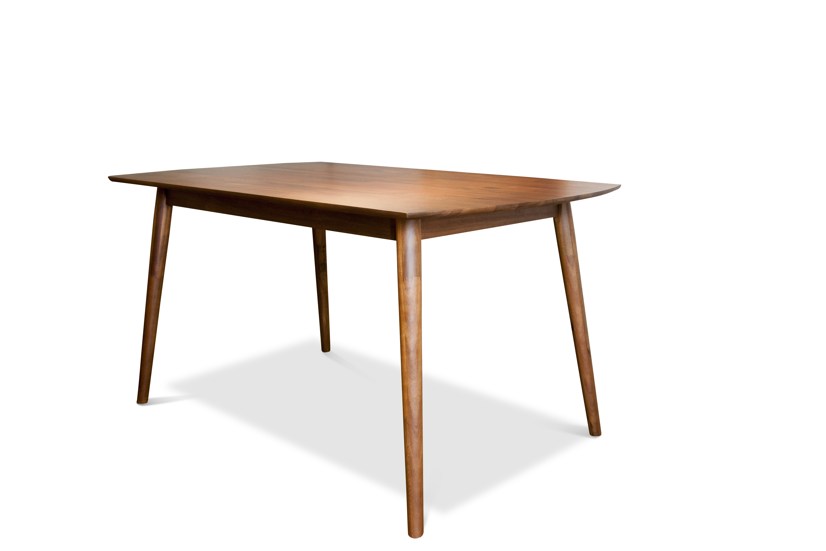 maison du monde Table scandinave en bois marron
