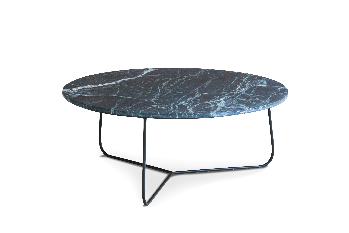 Table en marbre vert