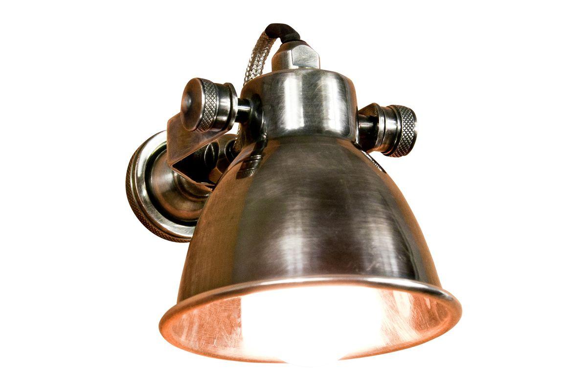 Applique industrielle en métal argenté