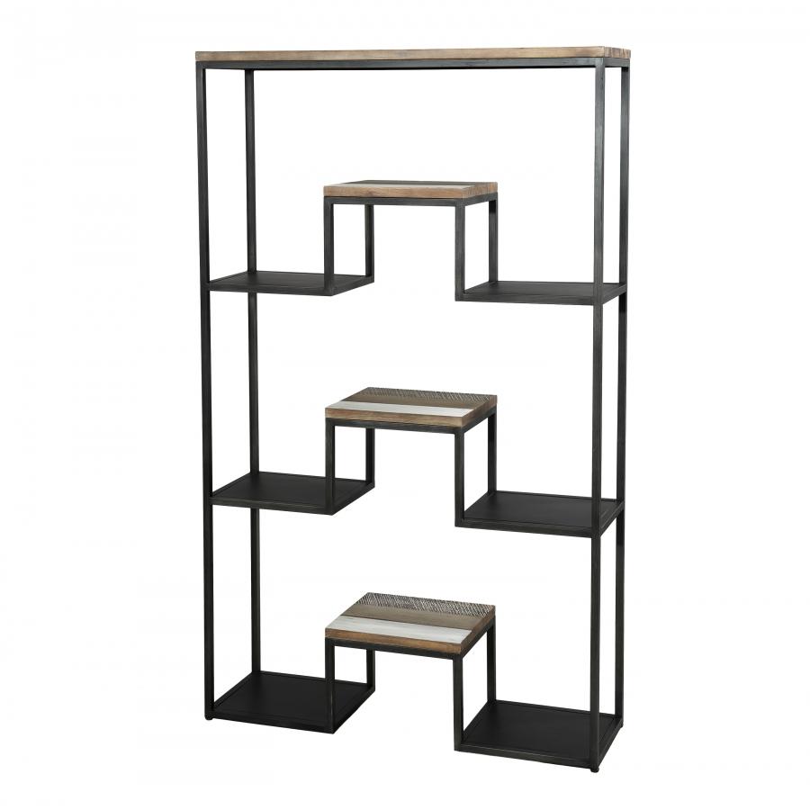 Etagère 3 niveaux XL bois