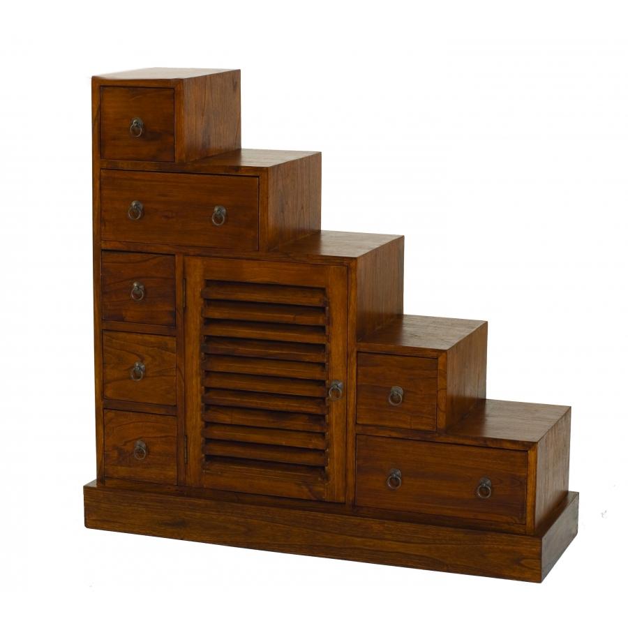 Meuble escalier grand modèle bois