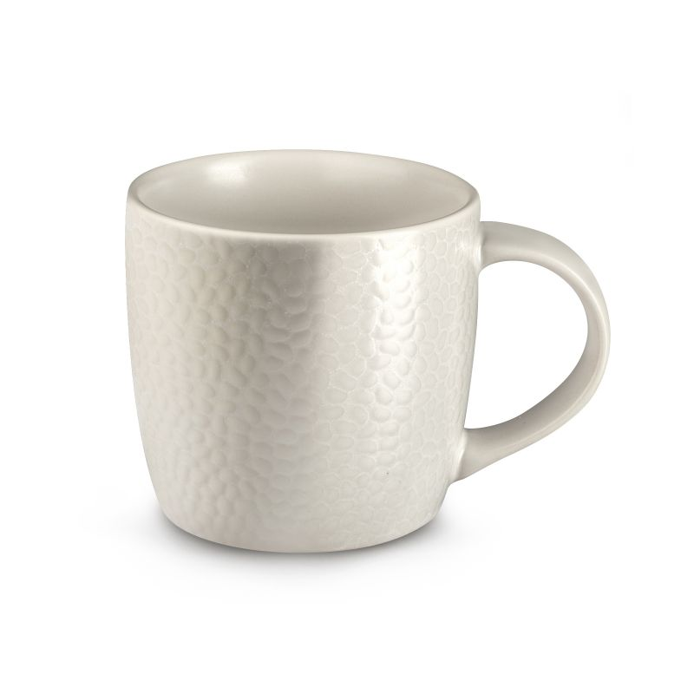 Coffret 6 tasses café & thé ivoire