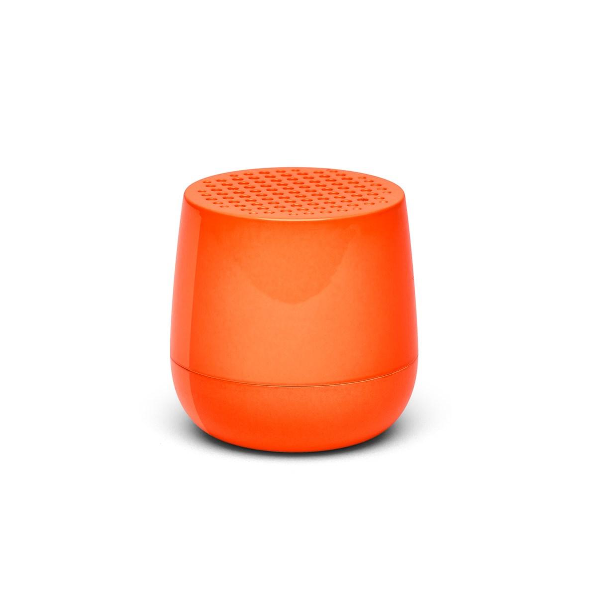 Enceinte bluetooth 3W rechargeable en ABS orange