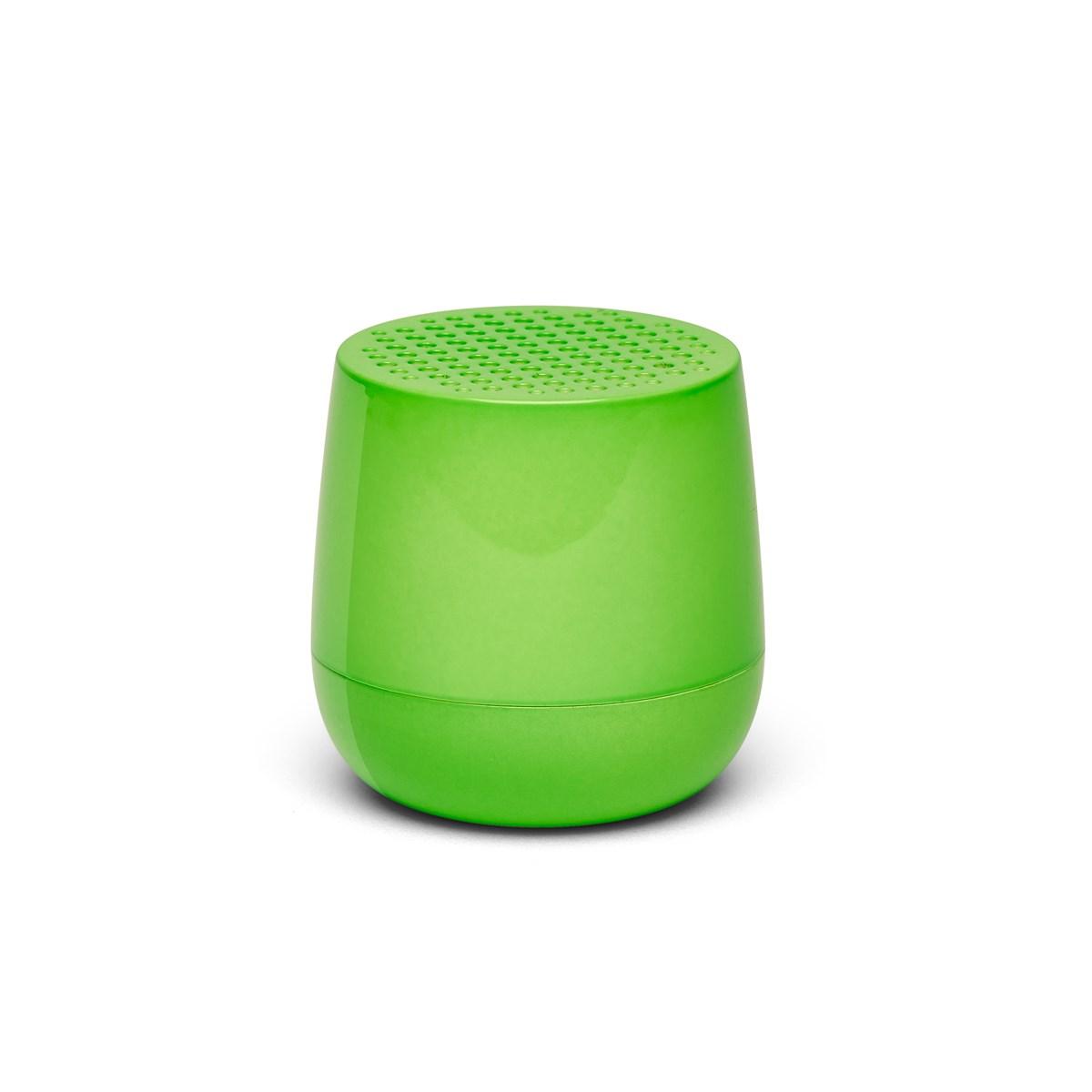 Enceinte bluetooth 3W rechargeable en ABS vert fluo