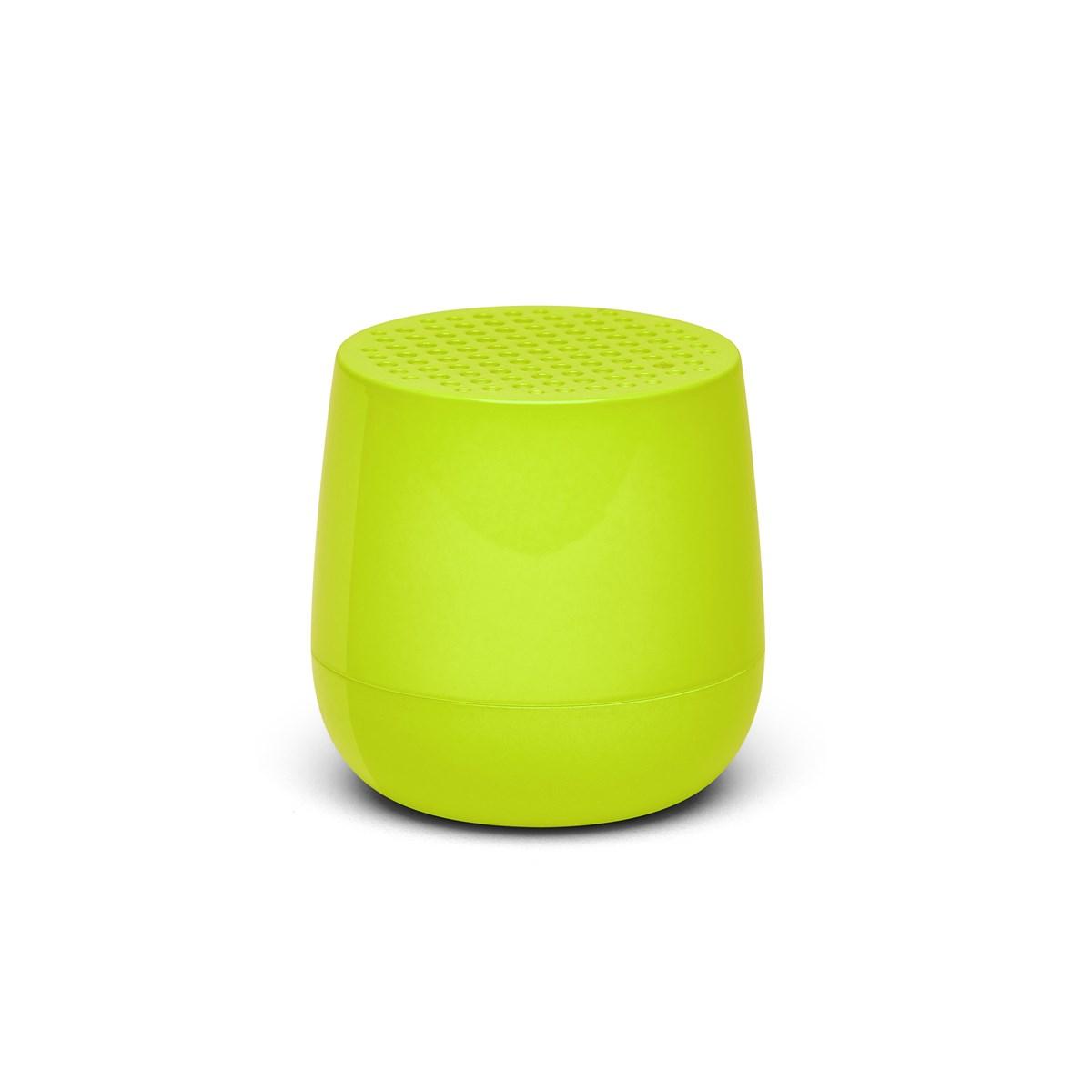Enceinte bluetooth 3W rechargeable en ABS jaune
