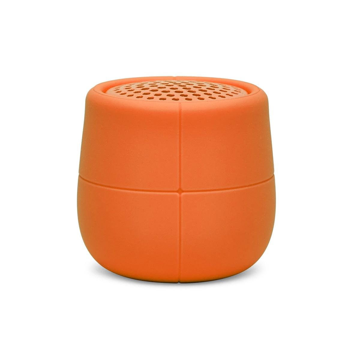 Enceinte flottante Bluetooth en Gomme Orange
