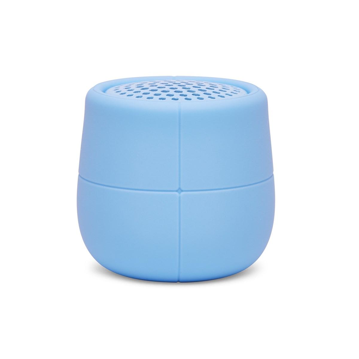 Enceinte flottante Bluetooth en Gomme Bleu ciel