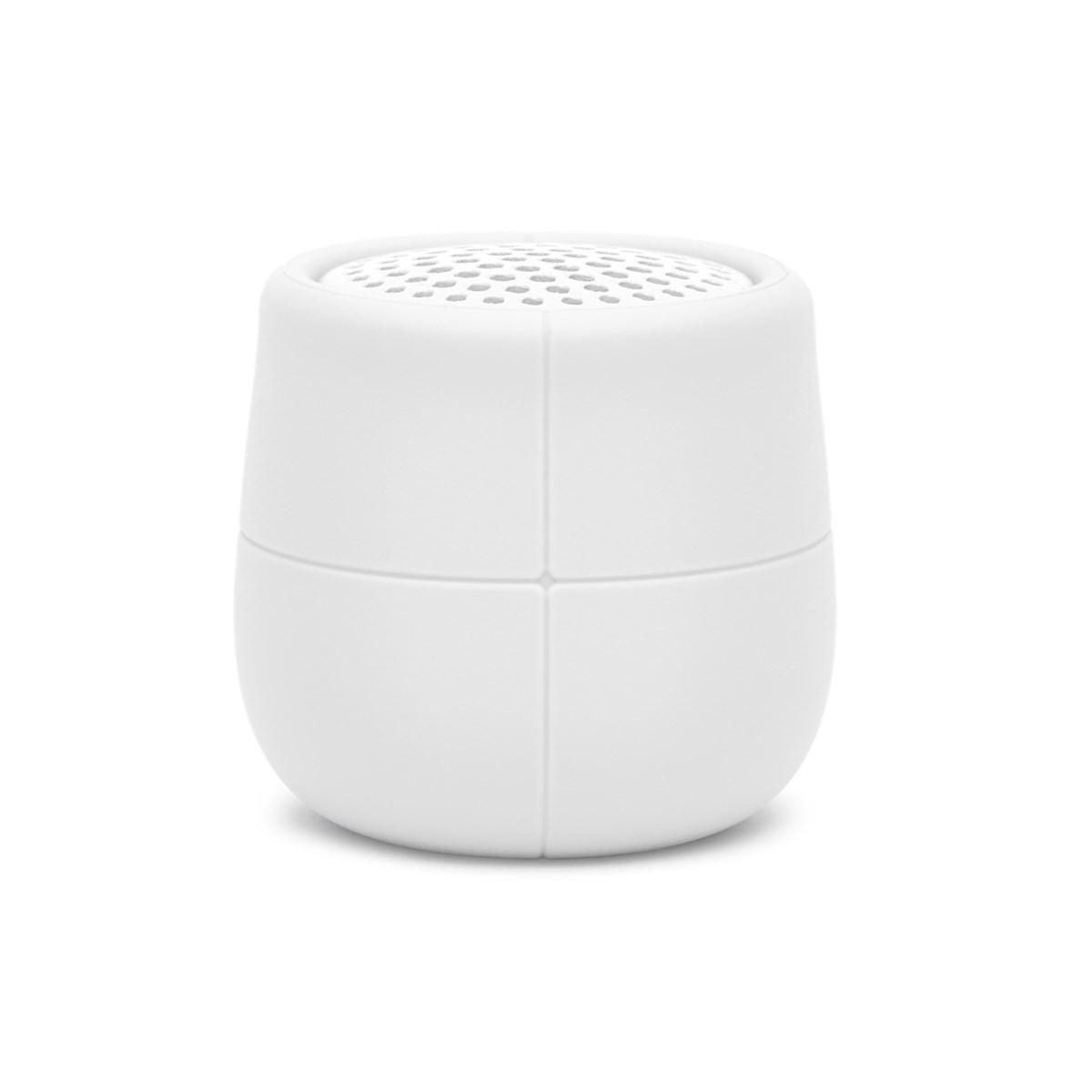 Enceinte flottante Bluetooth en Gomme Blanc