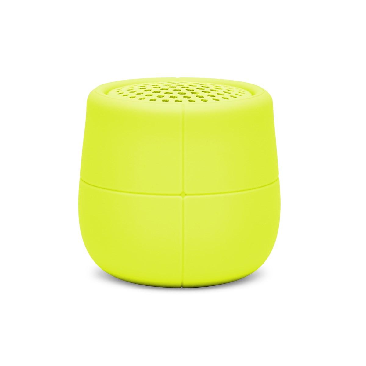 Enceinte flottante Bluetooth en Gomme Jaune