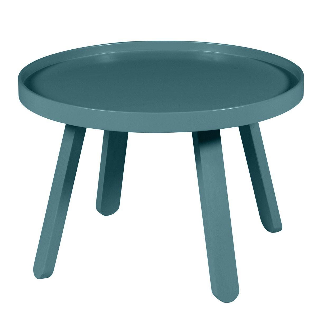 Table basse  bleu