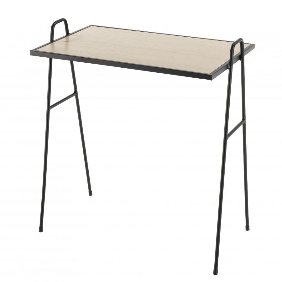 Table d'appoint 56x35cm pieds métal