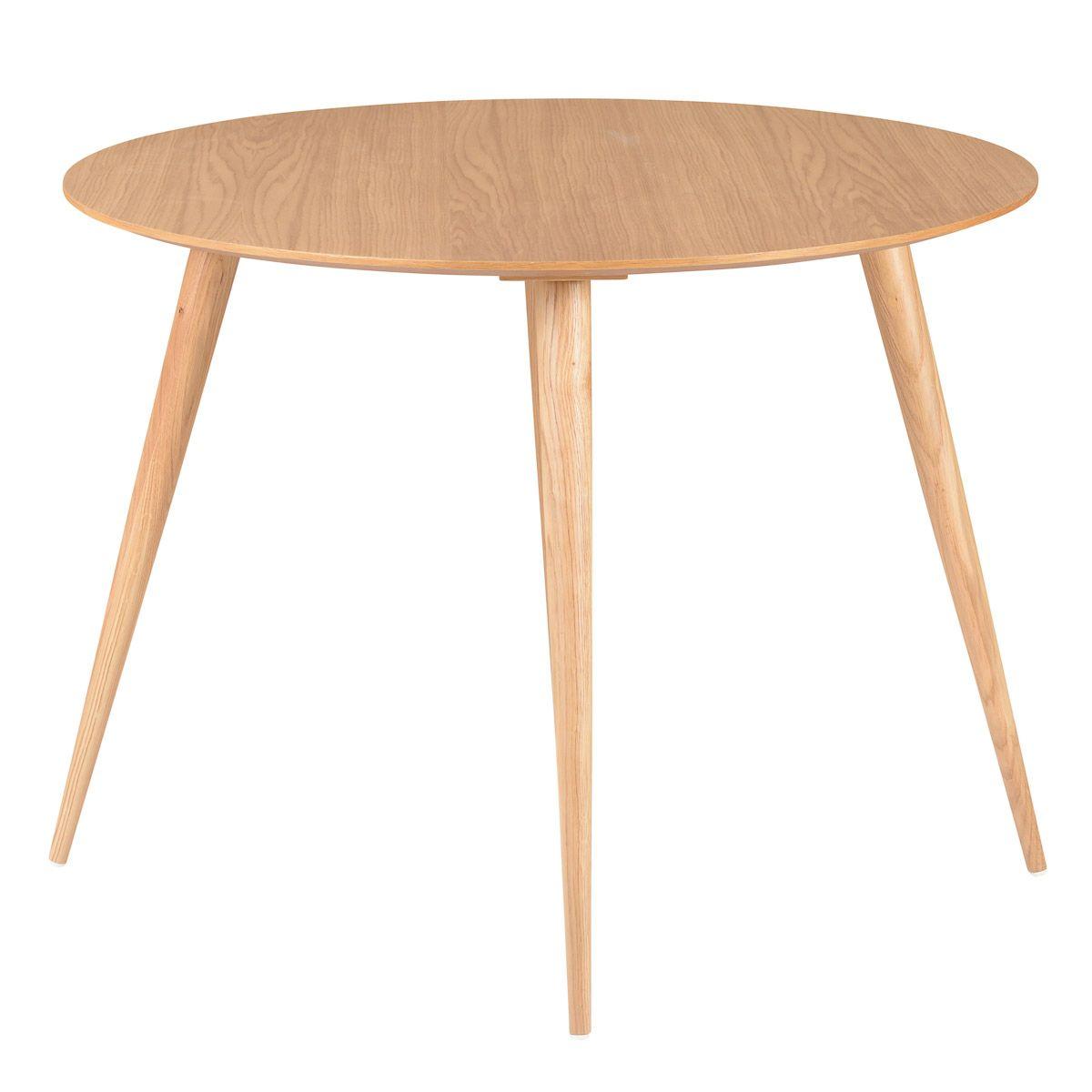 Table repas ronde 100 cm