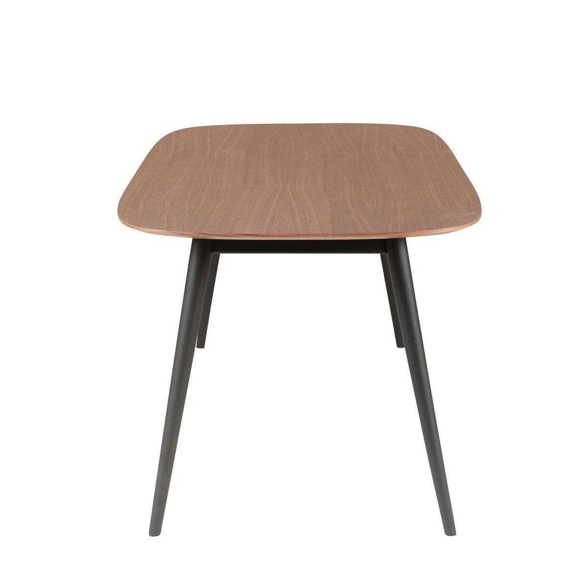 Table repas 180 cm en noyer